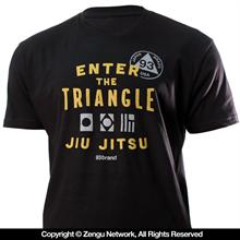 93 Brand Enter the Triangle Tee
